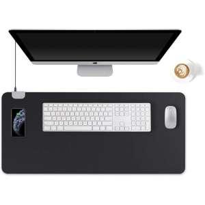 KINGFOM Multifunctional Mouse Pad, (Black)