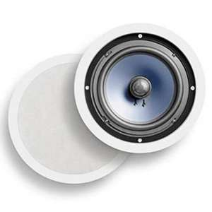 Poljk Audio 2-Way 8 Inches Round Speakers 100W