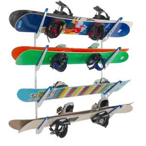 StoreYourBoard Snowboard Home and Garage Multi-Wall Storage Rack