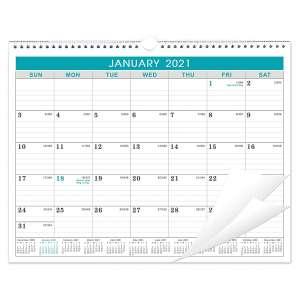 The Lemome (Green) 2021 Monthly Wall Calendar