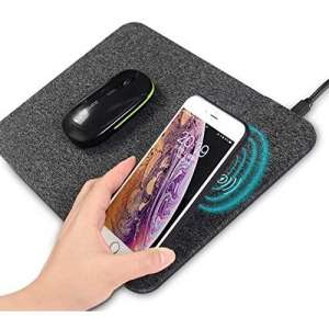 AmyZone Wireless Charging Mouse Pad