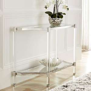 Erica 48-inches Wide Clear Acrylic Table