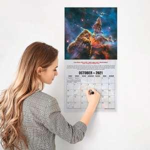 RED EMBER Wall Calendar
