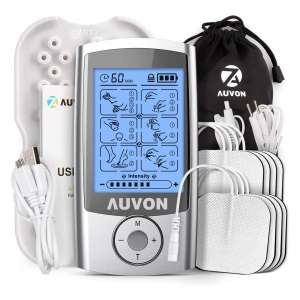 AUVON Rechargeable Muscle Stimulator for Pain Relief