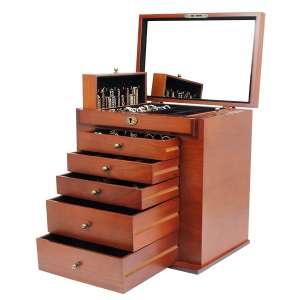 Homde Wooden Jewelry Box