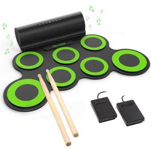 PAXCESS Electronic Drum Set for Kids