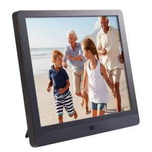 "Pix-Star 10"" Wi-Fi Digital Picture Frame (Black)"