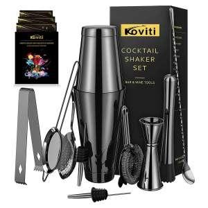 Koviti Cocktail Shaker 12 Pieces Bartender Kit