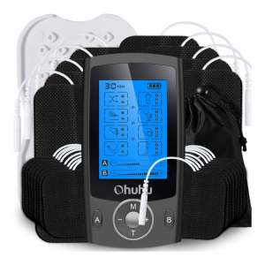Ohuhu Independent Dual Channel Muscle Stimulator