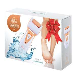 Own Harmony Electric Callus Remover with 3 Roller Heads