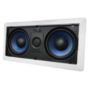 Silver Ticket Products In-Wall Speaker with Dual 5.25 Inches Center