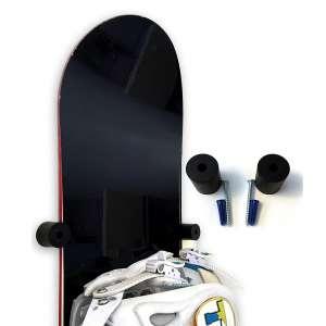 SkateHoarding Wall Mount Bullet Snowboard Hanger Rack for Display