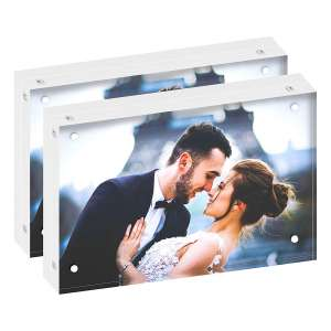 DEKIRU Acrylic Photo Frames 4 x 6 Inches