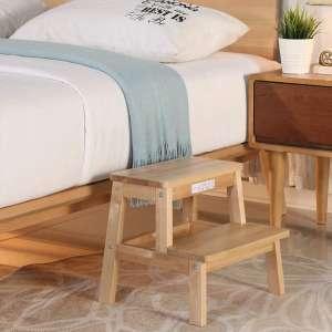 HOUCHICS Multi-Purpose Wooden Step Stool