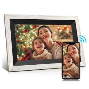 JEEMAK Digital Picture Frame with an IPS Touch Screen
