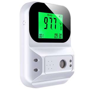Konsung Wall Mount Digital Scanner Thermometer for Adults