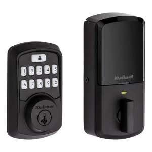 Kwikset 99420-003 Keypad Door Lock, Iron Black