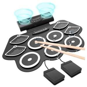 WildCat Electronic Drum Set (White)