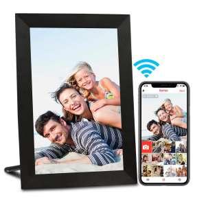 AEEZO WiFi Picture Frame, Wall Mountable (Black)