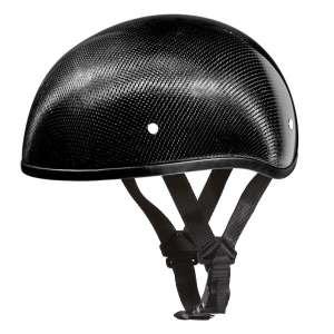 Daytona Helmets Slim Line Skull Carbon Fiber Motorcycle Helmet