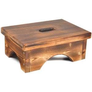 ECROCY Wooden Bedside Step Stool