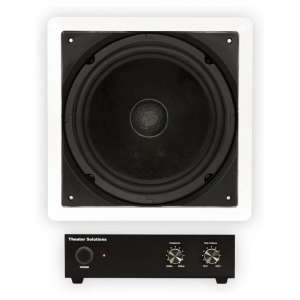 Theater Solutions 10 Inches Home Theater In-Wall Subwoofer