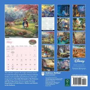 Thomas Kinkade Disney Dreams 2021 Wall Calendar