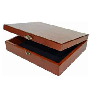 WE Games Wooden Jewelry Box
