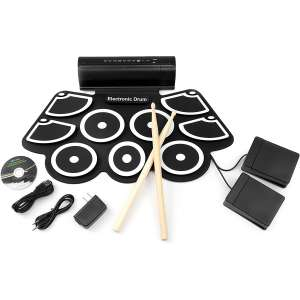 Best Choice Products Drum Pad with Built-In Speakers