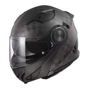 LS2 Matte Modular Vortex Carbon fiber Motorcycle Helmet