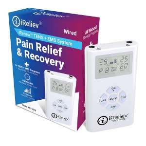 iReliev Massager for Pain Relief and Muscle Stimulation