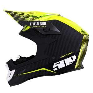 509 Altitude Fidlock Carbon Fiber Motorcycle Helmet