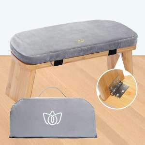Florensi Meditation Bench, Foldable and Ergonomic