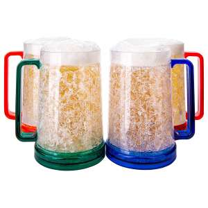 Granatan Beer Freezer Mugs
