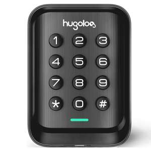 Hugolog Entry Door Locks, Matte Black