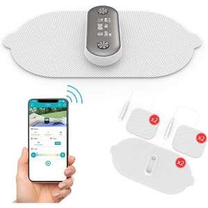 1byone Wireless Muscle Stimulator, White