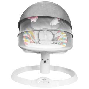 BABY JOY Baby Swing Remote Control with 5-Point Harness