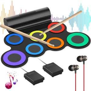 Generic Electronic Drum Set (Rainbow)
