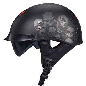 VCOROS Carbon Fiber Motorcycle Helmet