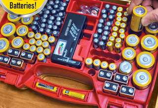 Battery Organizer Storage Cases