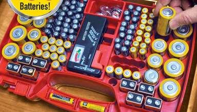 Battery Organizer Storage Cases