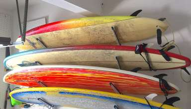 Surfboard Storage Rack