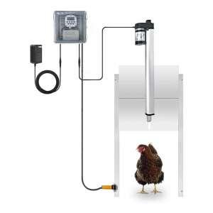 JVR Automatic Chicken Door