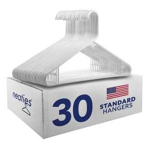 Neaties US-Made Plastic Hangers