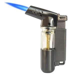 Yeuligo Windproof Butane Torch Lighter, Gray