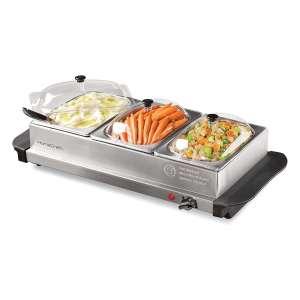 HomeCraft Stainless Steel Buffet Server Slow Cooker