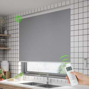 Kerxwerd Blackout Blinds and Shades with Remote Control