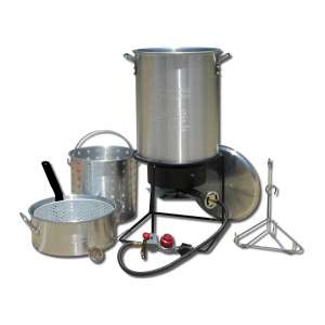 King Kooker Portable Deep Frying and Boiling Package