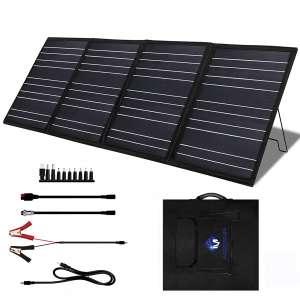 MEGSUN 100W 8V Portable Foldable Solar Panel