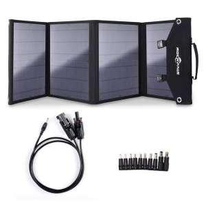 Rockpals 100W Foldable Portable Solar Panel